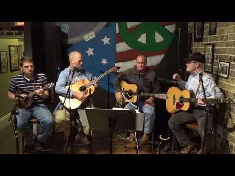 Solid Blue Bluegrass Band at Berkeley Bob's Coffee House 9 December 2017, 1st Set
