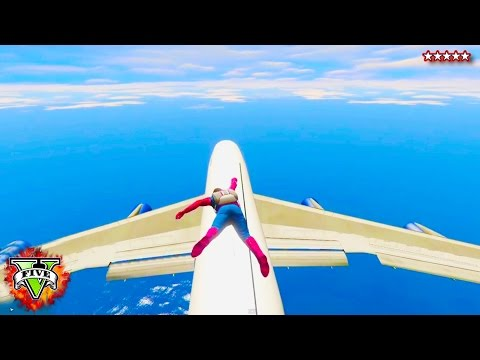 HikePlays GTA 5 SPIDERMAN! - GTA 5 PC MOD Spiderman w/ Grappling Hook (GTA 5 MOD)