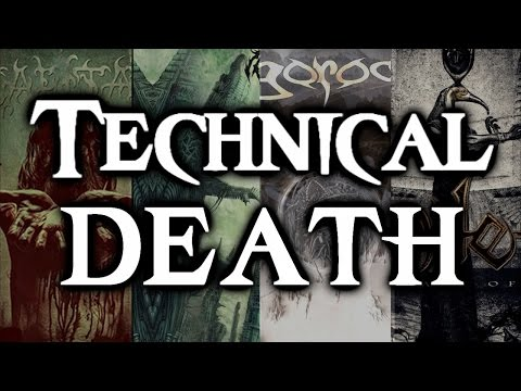 TECHNICAL DEATH METAL |20 BEST BANDS