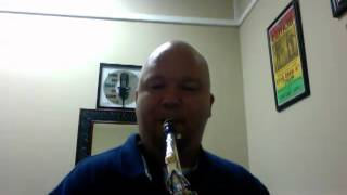 Blues Jam E minor on Yamaha Alto Saxophone 875 Test