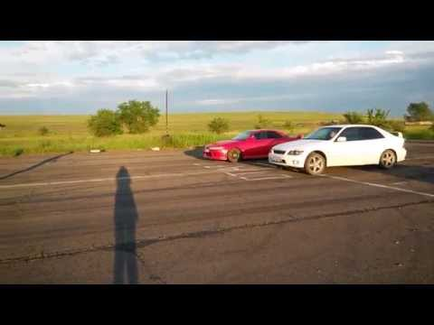 Toyota Ceres 7a-fe атмо мкпп Vs Toyota Altezza 3s-ge Beams мкпп