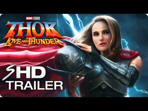 THOR: LOVE AND THUNDER (2022) Teaser Trailer Concept - Natalie Portman, Chris Hemsworth Marvel Movie