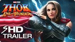 THOR: LOVE AND THUNDER (2021) Teaser Trailer Concept - Natalie Portman, Chris Hemsworth Marvel Movie