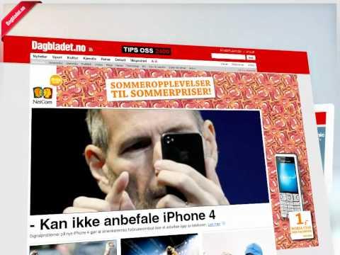Dagbladet.no - nytt design