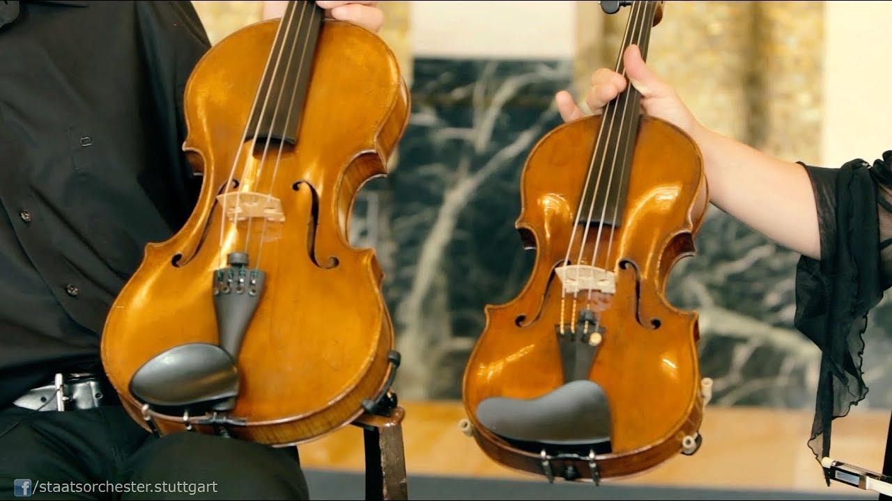 Die Violine - ein Streichinstrument
