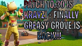 Fortnite India Patch 10.3 est ici! Greasy Grove et Moisty Palms sont ici- 200 sous-marins bientôt
