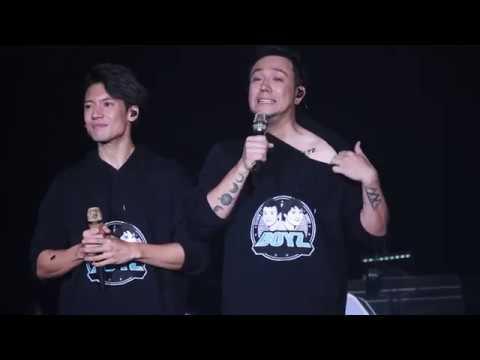 20181016 BOYZ talking part + 張致恒 - 我長大了 + 張敬軒 talking part