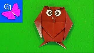 Оригами из бумаги ФИЛИН