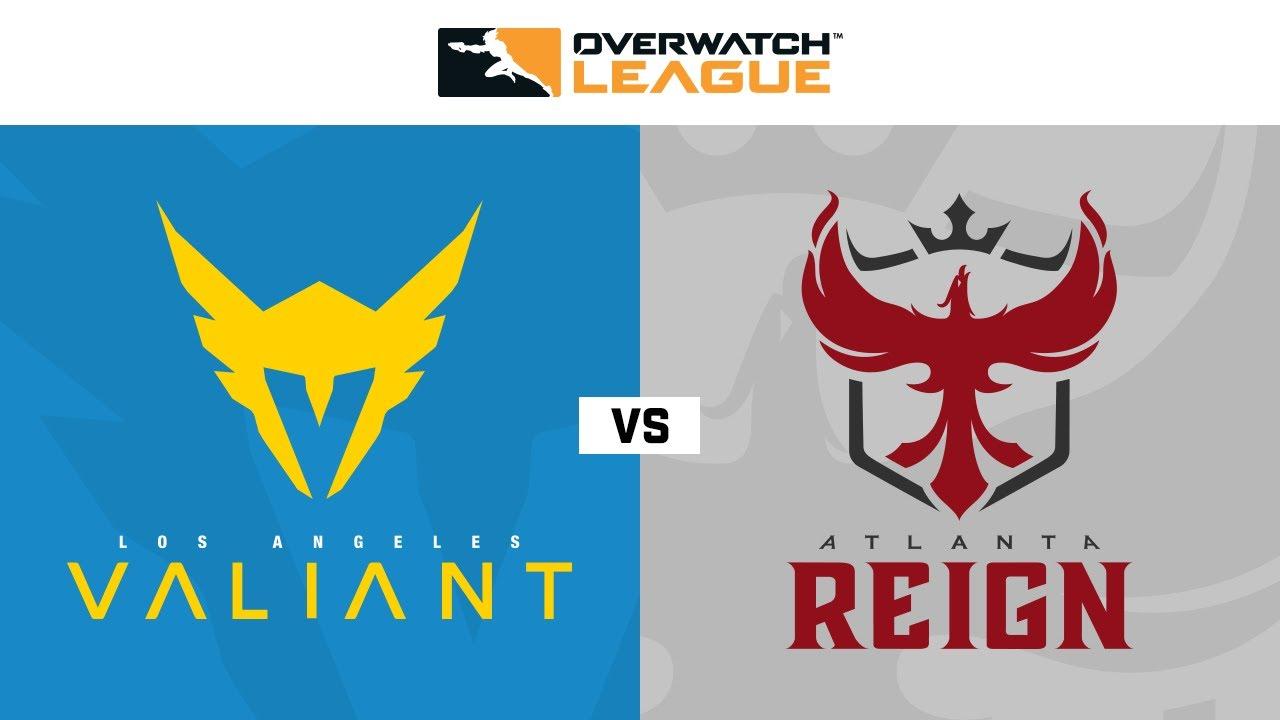 Los Angeles Valiant Vs Atlanta Reign Week 13 Day 1 Part 2 Youtube