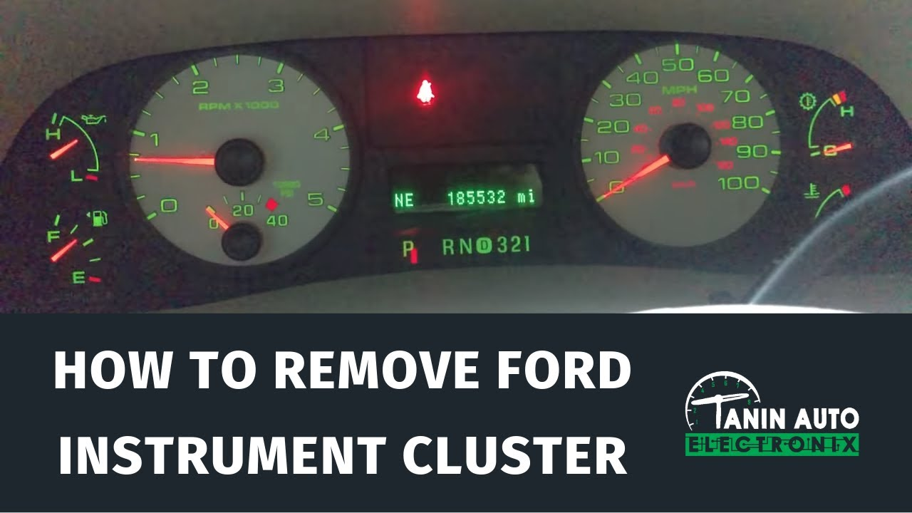 Tanin Auto Electronix 2005 2006 2007 Ford F250 F350 F450 Speedometer 2000 Tractor Dash Wiring Cluster Repair Service