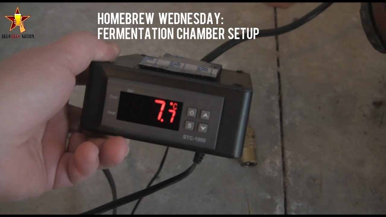 Fermentation Chamber Setup Homebrew Wednesday Beer Geek Nation Beer  #8B4440