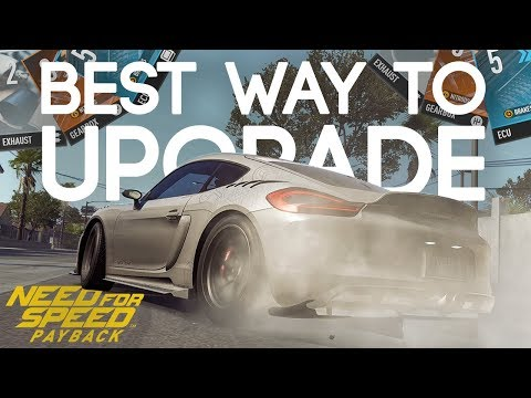 Need for Speed Payback - HOW TO UPGRADE CARS (BEST WAY TO LEVEL 399)