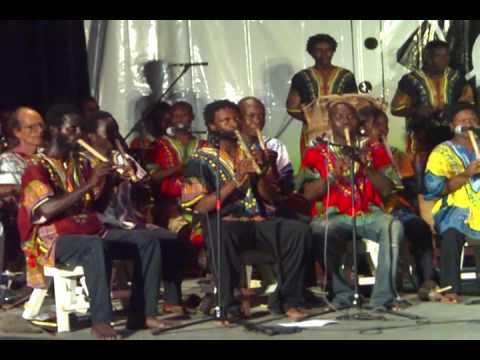 Pan African Orchestra plays Osibisa Music for the  Gong Gong
