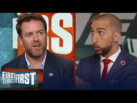 Carson Palmer offers Darnold advice, Talks L.Bell's holdout | NFL | FIRST THINGS FIRST