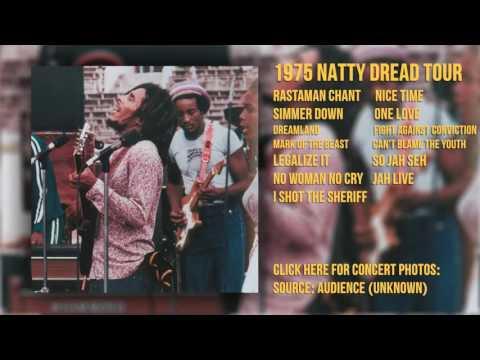 The Wailers/Stevie Wonder - Wonder Dream Concert 10/04/75 (AUD - Unknown 1)