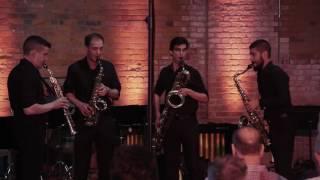 Gyorgy Ligeti Six Bagetelles - Donald Sinta Saxophone Quartet