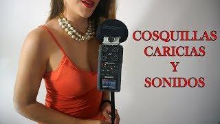 ⭐️ ASMR Español ⭐️Cosquillas, caricias y sonidos. S...