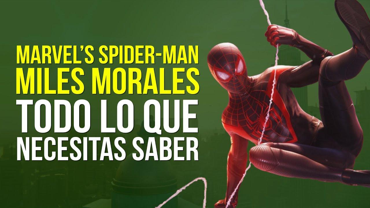 MARVEL'S SPIDER-MAN MILES MORALES, la HISTORIA HASTA AHORA en 6 MINUTOS