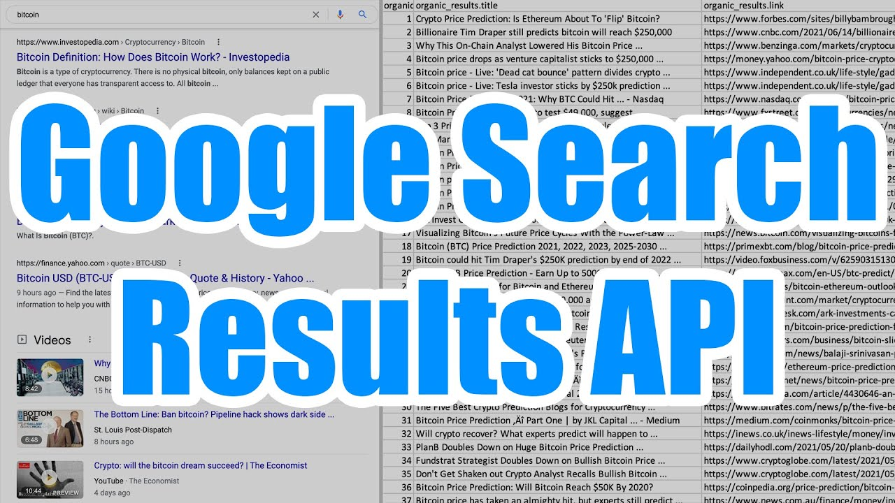 Download Scraping Google Search Results With Scale SERP's Data API - How to Extract Bulk Search Rankings