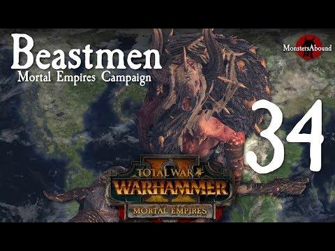 Total War: Warhammer 2 Mortal Empires - Beastmen Campaign #34