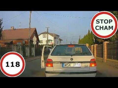 Stop Cham #118 – Niebezpieczne i chamskie sytuacje na drogach