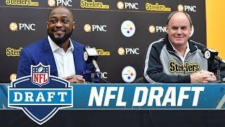 GM Kevin Colbert & Coach Tomlin Recap 2019 NFL Draft   Pittsburgh Steelers
