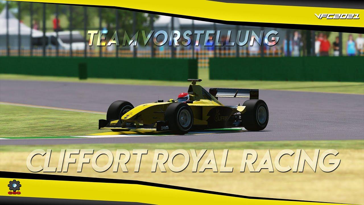 Virtual Formula Championship 2021 - Cliffort Royal Racing Teamvorstellung