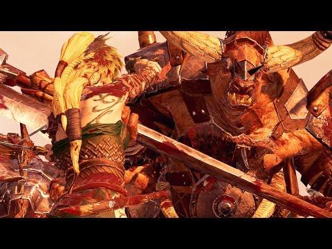 Total War WARHAMMER - Realm of The Wood Elves Versus Beastman - Massive Battle Total War Warhammer |