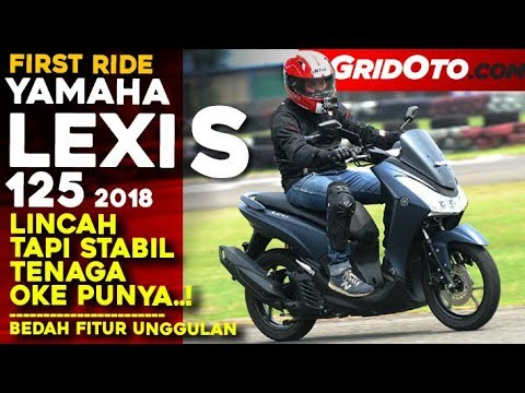 Yamaha Lexi S 2018 First Ride Review Gridoto Youtube