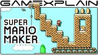 Dig Dig Outpost - Super Mario Maker Level Showcase