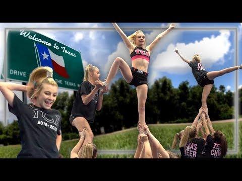 Meet Texas Cheer Allstars  Cheerleaders Champions League EP 1