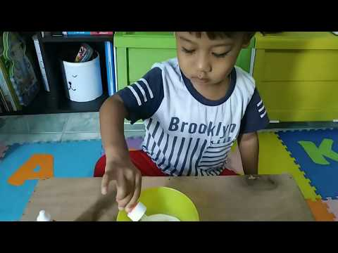 Montessori Play with Snow [Bermain Dengan Anak]