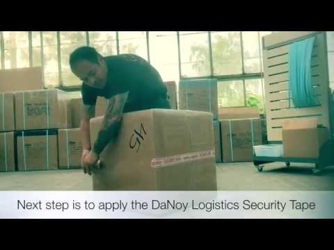 How DaNoy Logistics secure our Balikbayan boxes before all shipment.