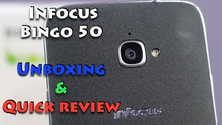 Infocus Bingo 50 Unboxing and Quick Review