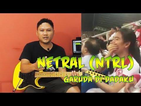Tutorial Gitar Melodi Netral (NTRL) Garuda Di Dadaku By Sobat P 🎸