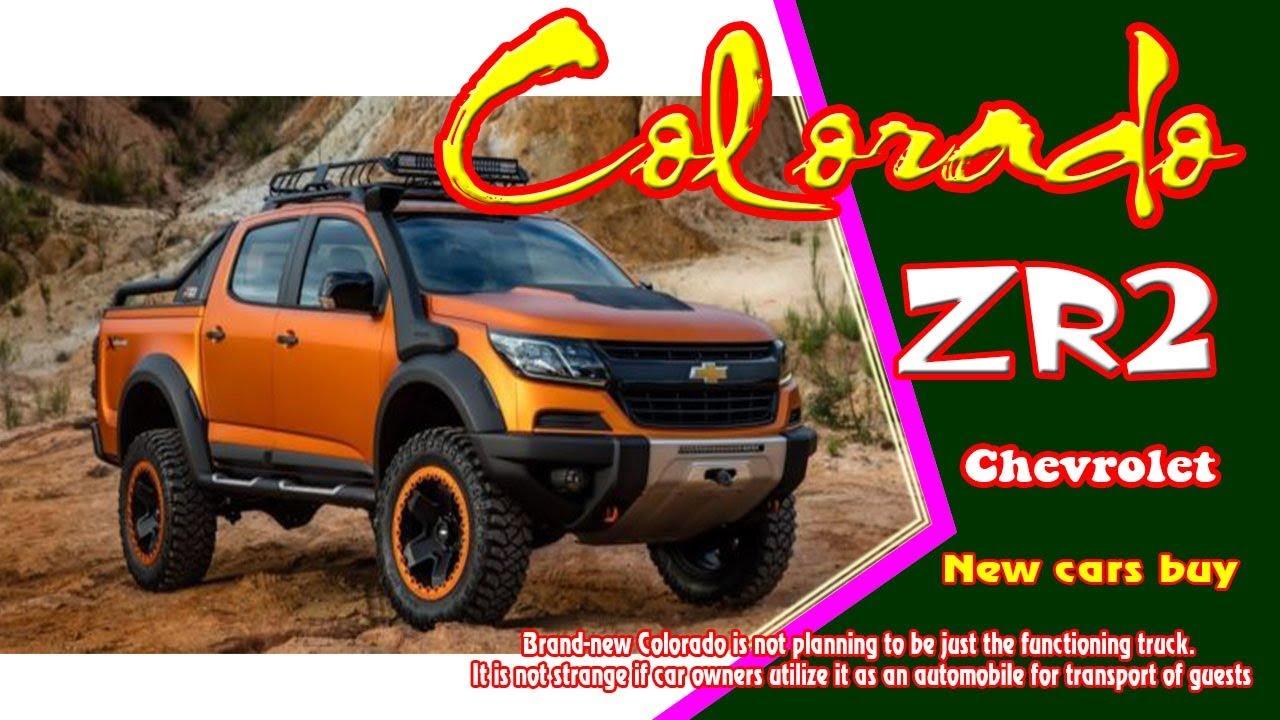2019 Chevrolet Chevy Colorado Zr2 2019 Chevrolet Colorado Zr2