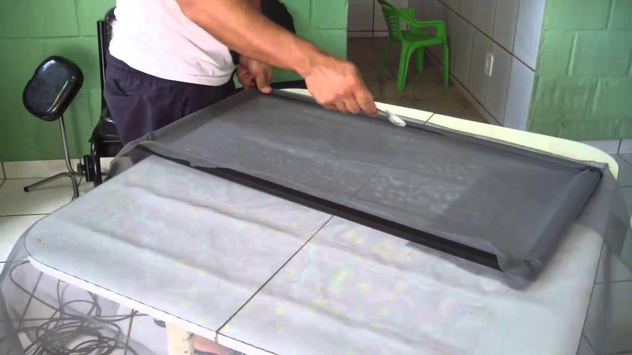 Top Como fazer tela mosquiteiro 2 de 3 - YouTube HG01