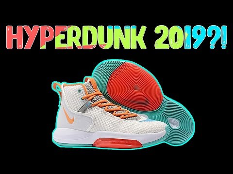 Nike Hyperdunk 2019 LEAK?! - YouTube