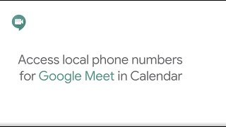 How To: Access local phone numbers