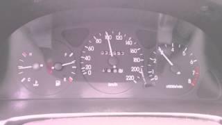 обороты\скорость 5я передача Lanos 1.6 16V сток кпп