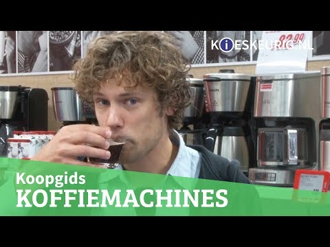 Koffiemachine kopen? – Kieskeurig helpt!
