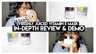 How to Fade Acne Scars: Klairs Vitamin E Mask In-Depth Review and Demo | SamiJoie