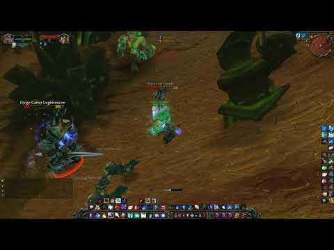 Warbringer Arix'Amal Location; Close Burning Legion Gate, WoW TBC