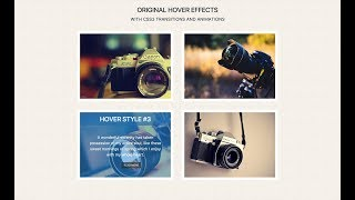 CSS image Hover effect | Pure Css3 Hover Effect | Image Overlay | CSS Khmer