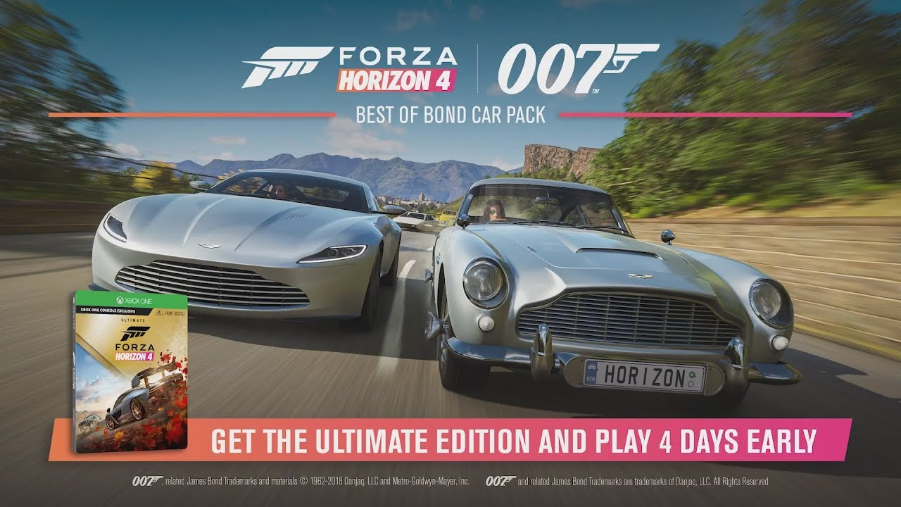Forza Horizon 4 - Best of Bond Car Pack Trailer