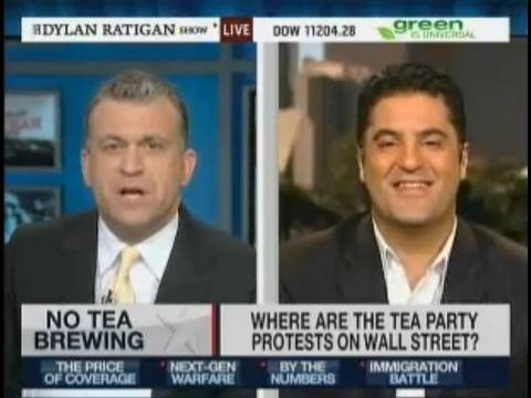 Cenk On MSNBC - Goes Off On Tea Party