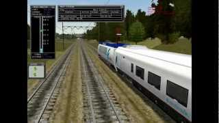 Microsoft Train Simulator gameplay (HD)