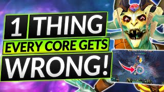 1 Thing EVERY CΟRE Does WRONG - This Tip Changes EVERYTHING - Dota 2 Carry Guide
