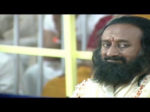 Glimpse of Navratri Celebrations  (Day 6) with Gurudev Sri Sri Ravi Shankar