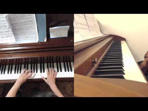 Piano Technique: D Major Arpeggio (Legato to Staccato ...